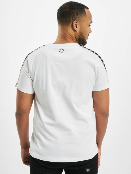 UNFAIR ATHLETICS T-Shirt Classic Label Taped weiß