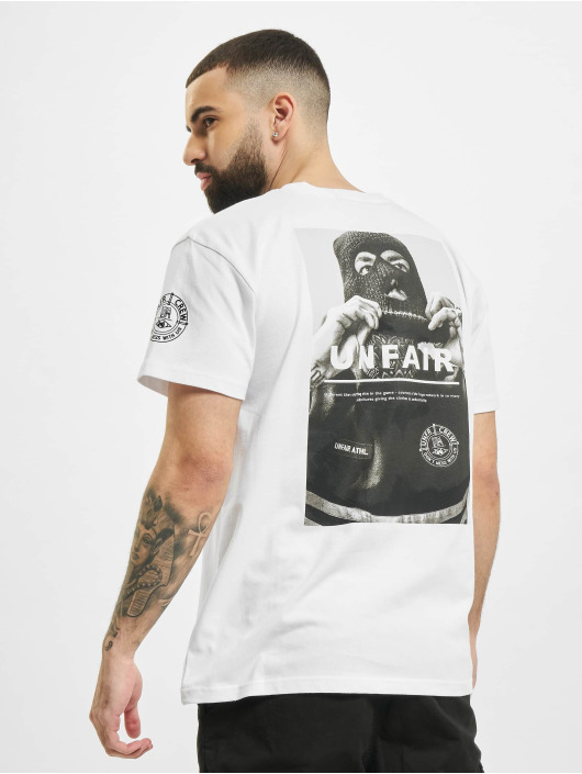 UNFAIR ATHLETICS T-Shirt Unfair Balaklava weiß