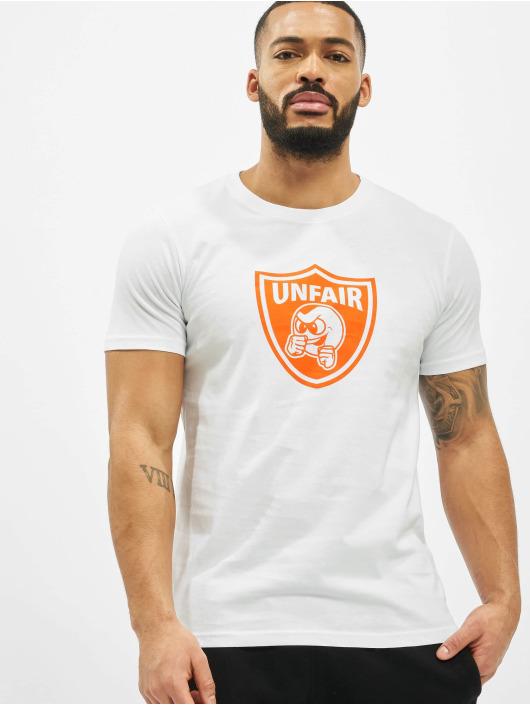 UNFAIR ATHLETICS T-Shirt Pb Emblem white