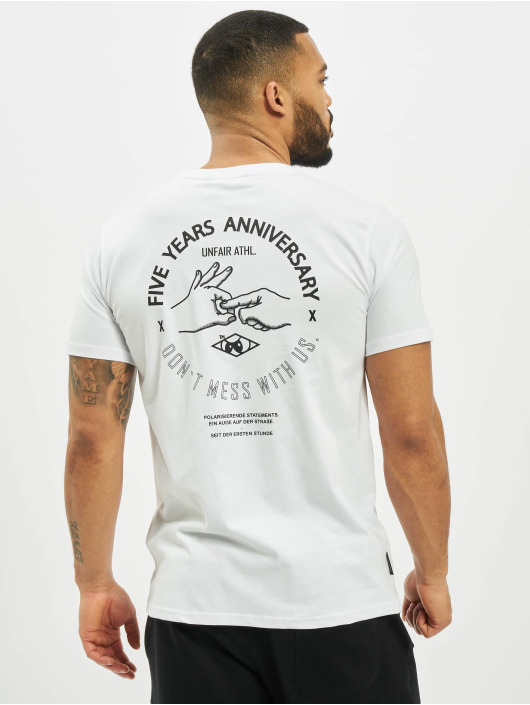 UNFAIR ATHLETICS T-Shirt Anniversary white