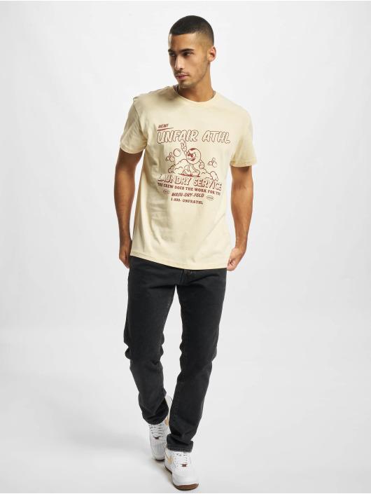 UNFAIR ATHLETICS T-shirts Laundry Service beige