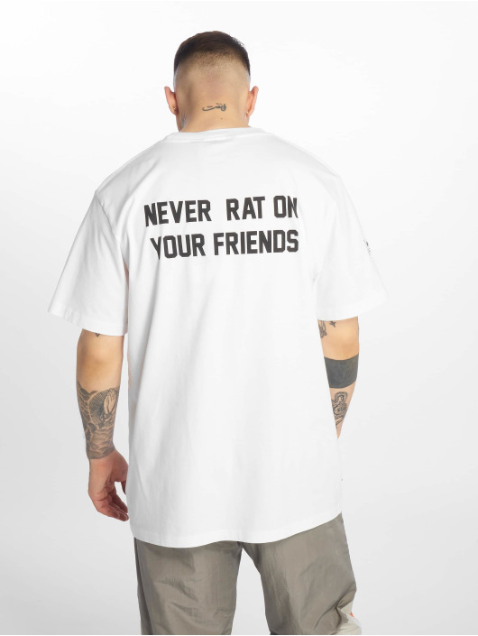 UNFAIR ATHLETICS T-Shirty Never Rat bialy