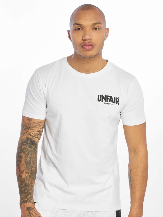 UNFAIR ATHLETICS T-Shirty Classic Label BP bialy