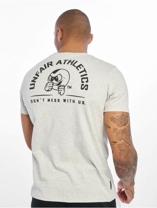 UNFAIR ATHLETICS T-Shirty Punchingball Hybrid bialy