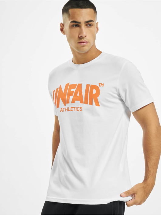 UNFAIR ATHLETICS T-Shirty Classic Label bialy