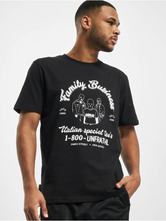 UNFAIR ATHLETICS T-Shirty Family Business czarny