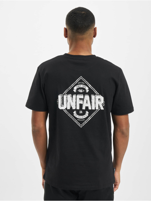 UNFAIR ATHLETICS T-Shirty Crew czarny