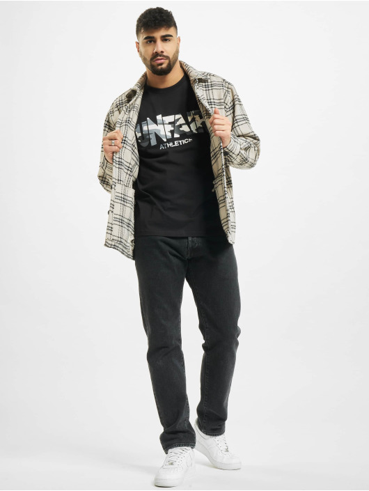 UNFAIR ATHLETICS T-Shirty Classic Label czarny