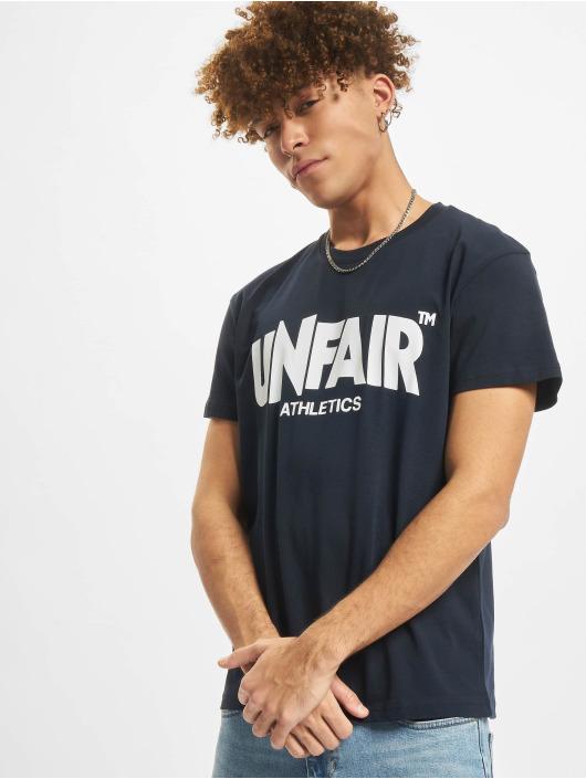 UNFAIR ATHLETICS T-Shirty Classic Label niebieski