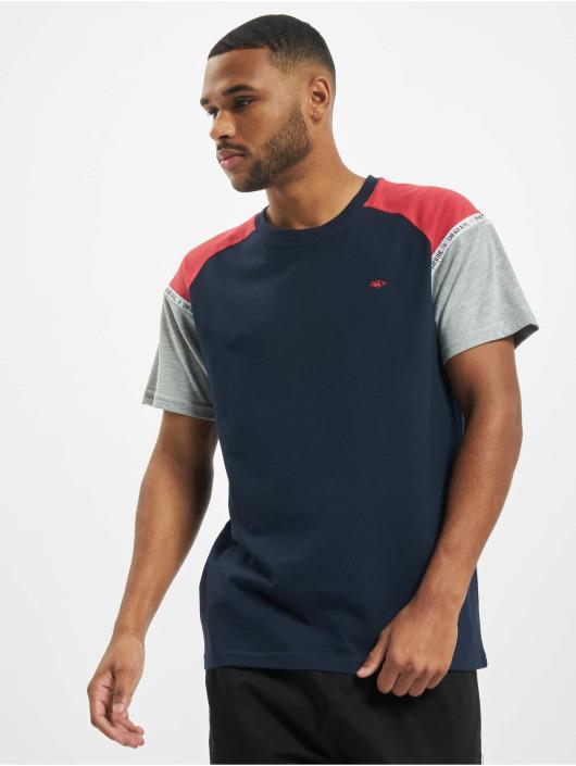 UNFAIR ATHLETICS T-Shirty Hash Panel niebieski