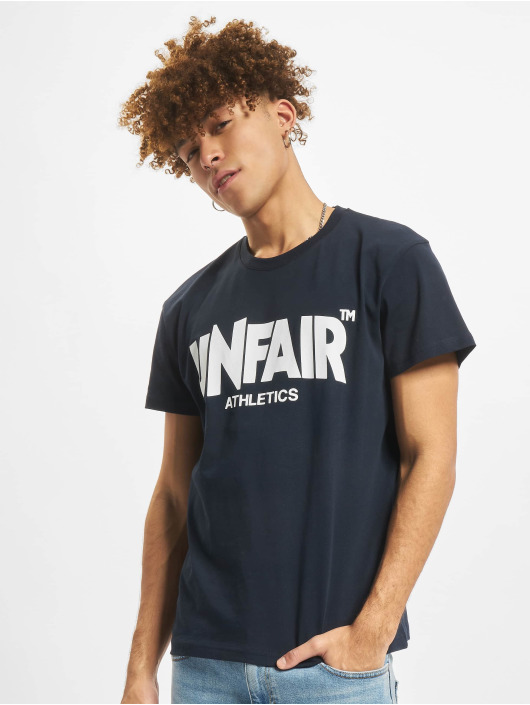 UNFAIR ATHLETICS T-skjorter Classic Label blå
