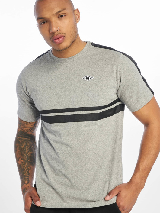UNFAIR ATHLETICS T-skjorter Hash Basic grå