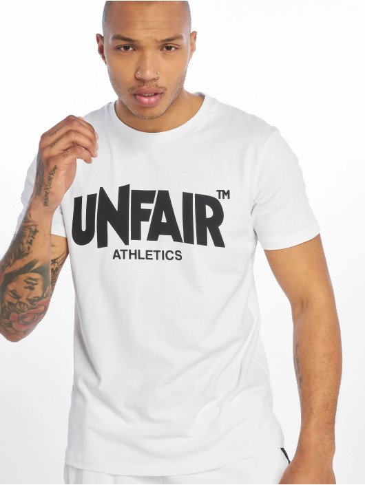UNFAIR ATHLETICS T-skjorter Classic Label '19 hvit