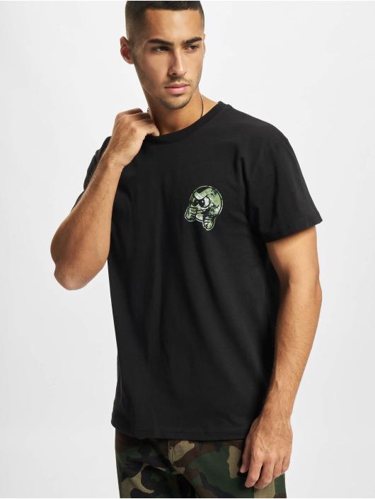 UNFAIR ATHLETICS T-skjorter Punchingball Pixel Cam svart