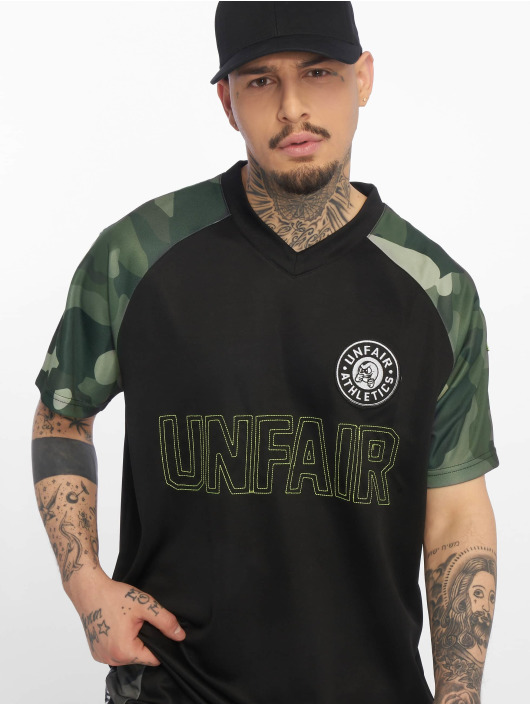 UNFAIR ATHLETICS Trikot Football Jersey nero
