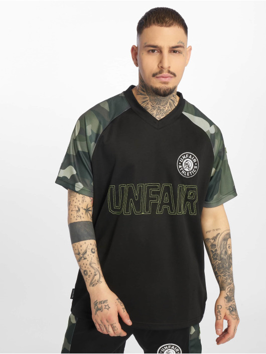 UNFAIR ATHLETICS Trikot Football Jersey schwarz