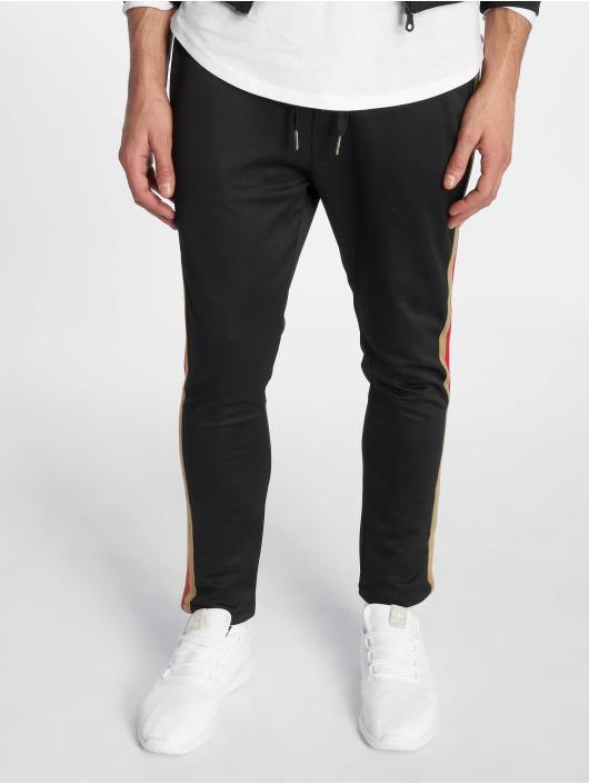 Uniplay Jogginghose Stripes schwarz