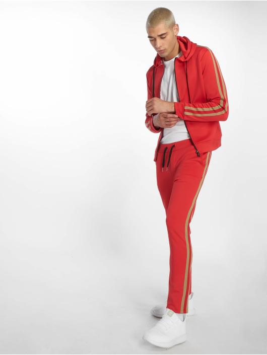 Uniplay Spodnie do joggingu Stripes czerwony