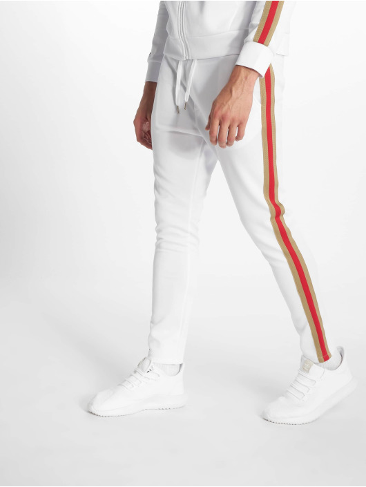 Uniplay Sweat Pant Stripes white