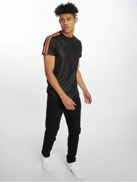 Uniplay T-Shirt Structure schwarz