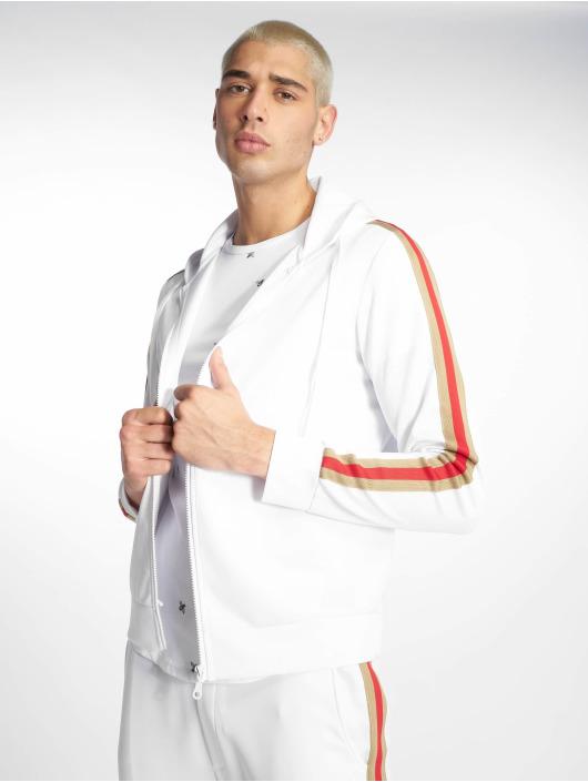 Uniplay Zip Hoodie Stripes biela