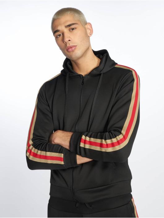 Uniplay Zip Hoodie Stripes black