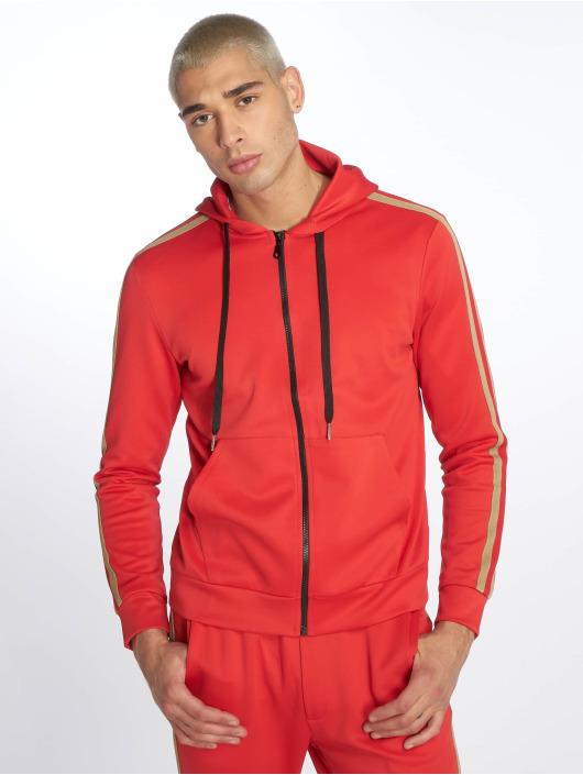 Uniplay Zip Hoodie Stripes rot