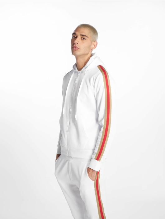Uniplay Zip Hoodie Stripes white