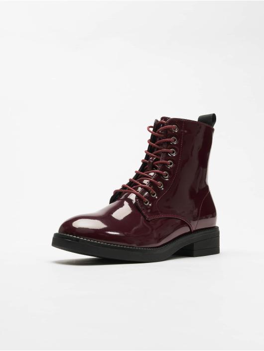 Urban Classics Čižmy/Boots Lace èervená