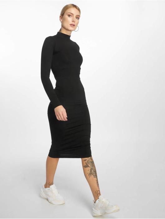 Urban Classics Šaty Ladies Turtleneck èierna