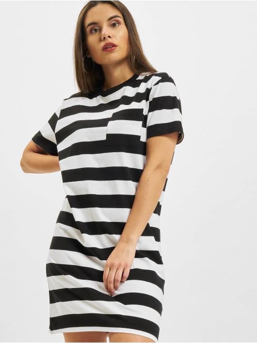 Urban Classics Šaty Stripe Boxy èierna