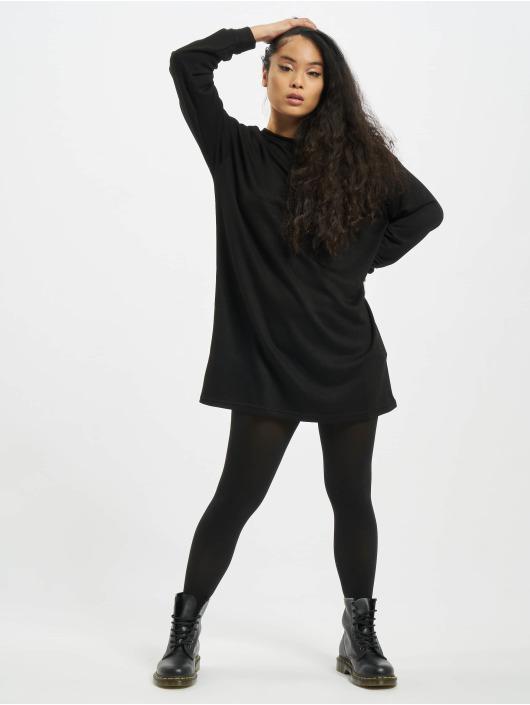 Urban Classics Šaty Ladies Modal Terry èierna