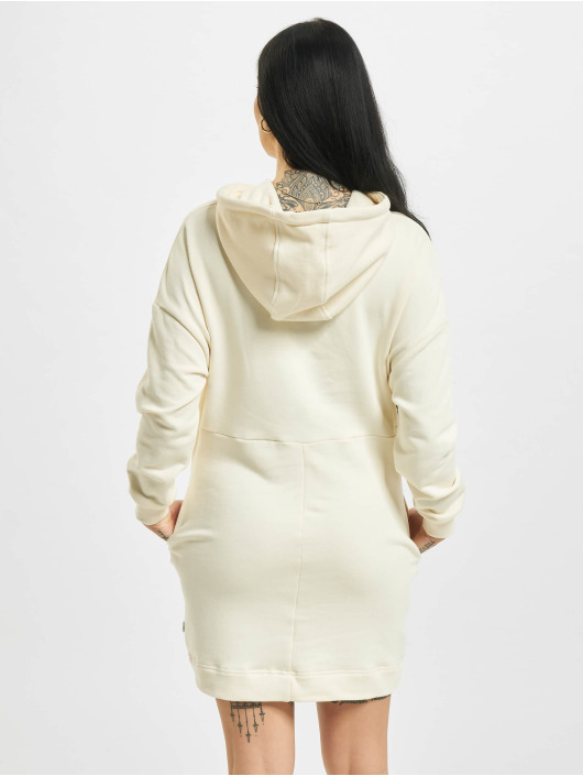 Urban Classics Šaty Ladies Organic Oversized Terry béžová