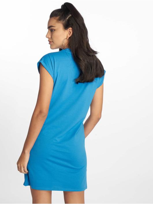 Urban Classics Šaty Turtle Extended Shoulder modrá