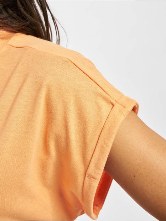 Urban Classics Šaty Turtle Extended Shoulder oranžová