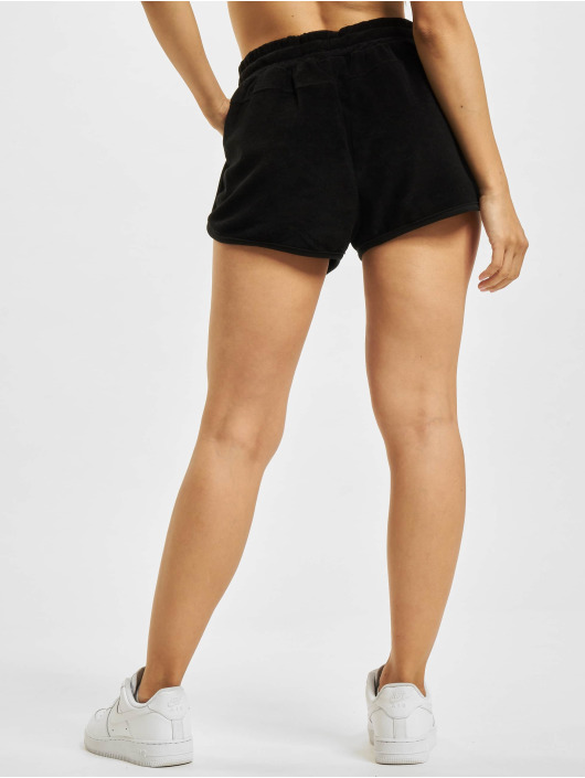 Urban Classics Šortky Towel Hot Pants èierna
