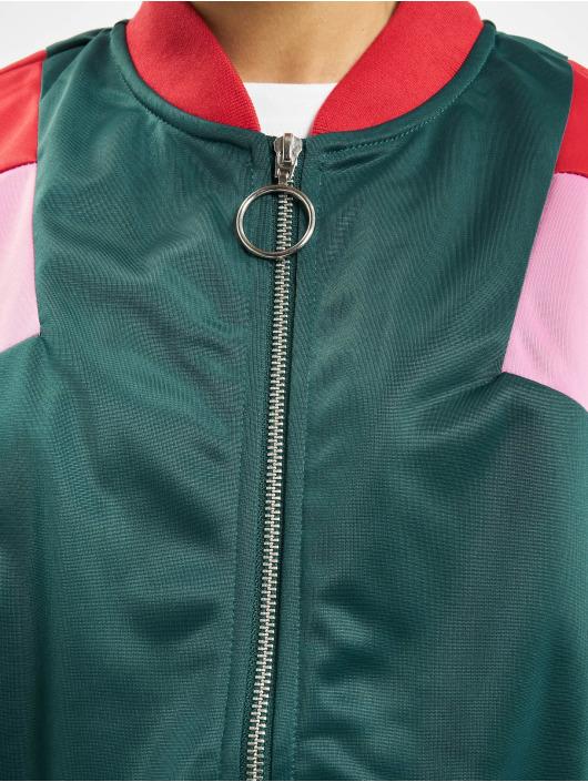 Urban Classics Демисезонная куртка 3-Tone зеленый