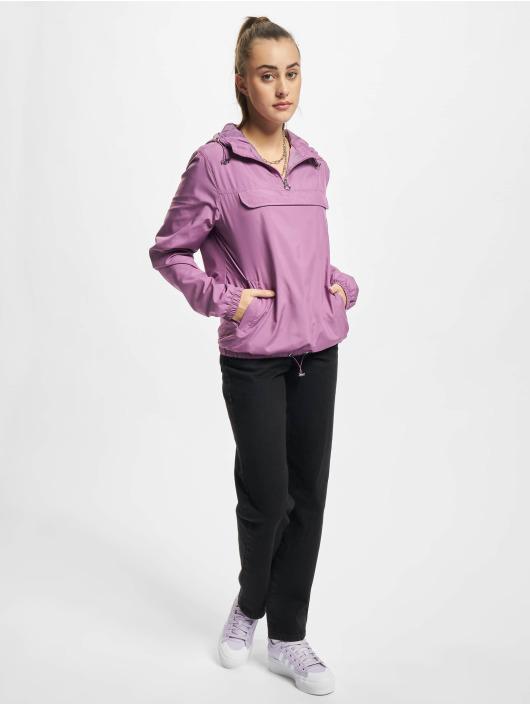 Urban Classics Демисезонная куртка Ladies Basic пурпурный