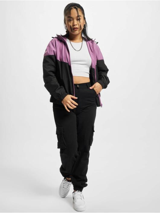 Urban Classics Демисезонная куртка Arrow пурпурный