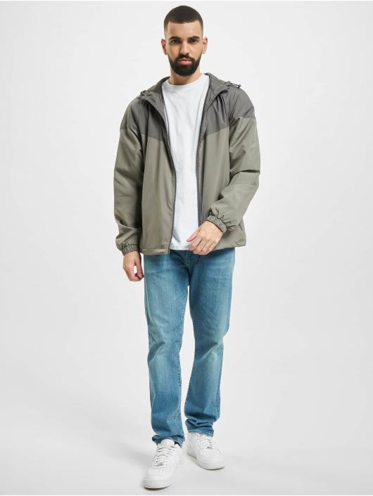 Urban Classics Демисезонная куртка 2 Tone Tech серый