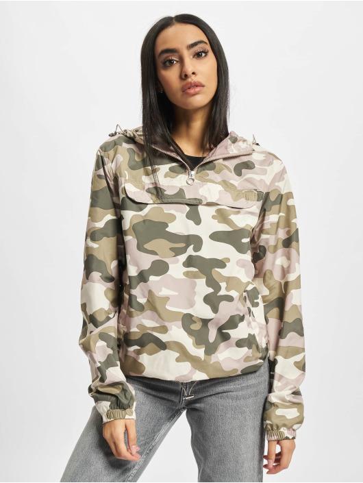 Urban Classics Демисезонная куртка Ladies Camo Pull Over цветной