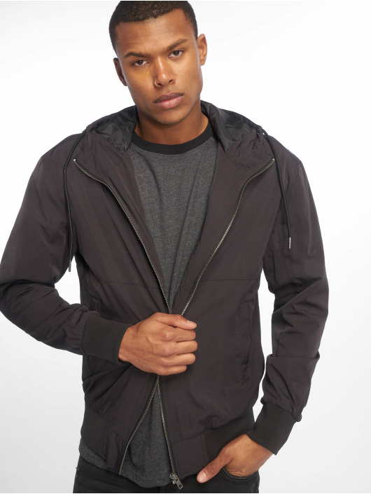 Urban Classics Демисезонная куртка Nylon черный