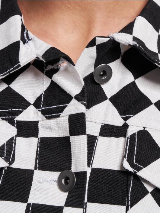 Urban Classics Демисезонная куртка Short Check черный