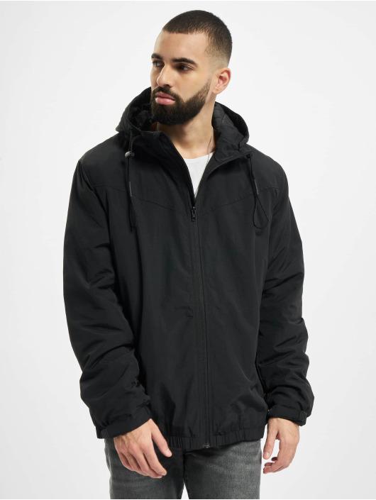 Urban Classics Демисезонная куртка Hooded Easy черный