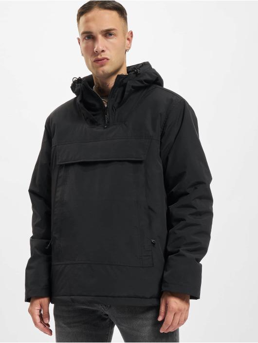 Urban Classics Демисезонная куртка High Neck Pull Over черный
