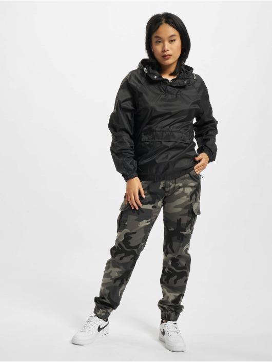 Urban Classics Демисезонная куртка Ladies Transparent черный