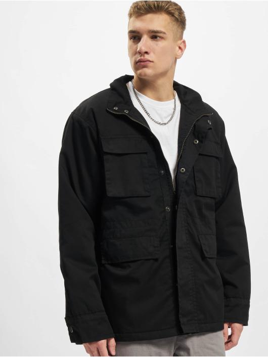 Urban Classics Демисезонная куртка Big M-65 черный
