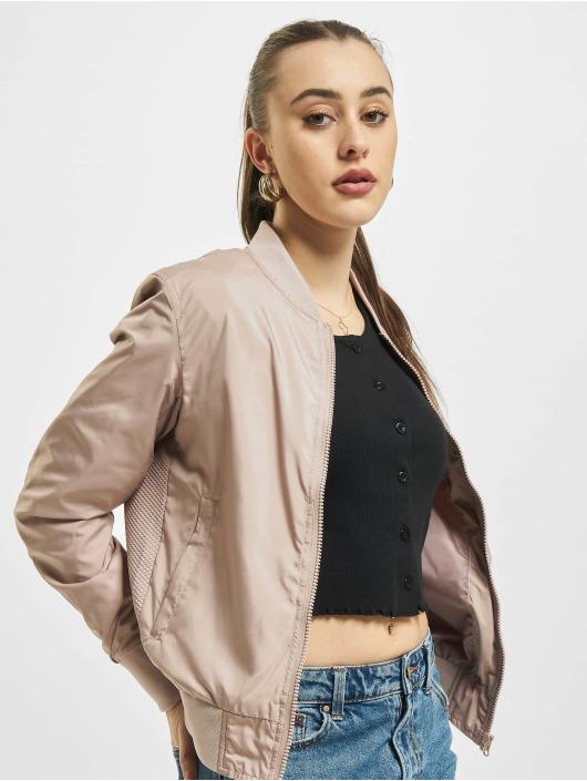 Urban Classics Куртка-бомбардир Light Bomber розовый