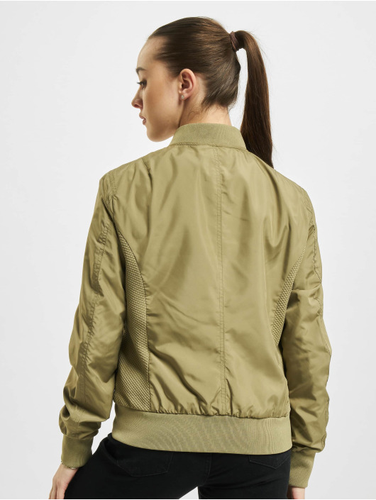 Urban Classics Куртка-бомбардир Light Bomber хаки