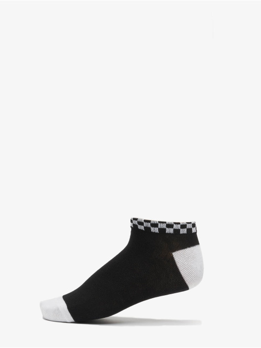 Urban Classics Носки Sneaker Socks Checks 3-Pack черный